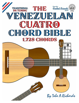 Cabot Books Publishing Venezuelan Cuatro Chord Bible