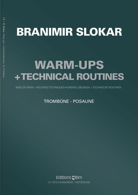Editions Bim Warm Ups & Technical Trombone
