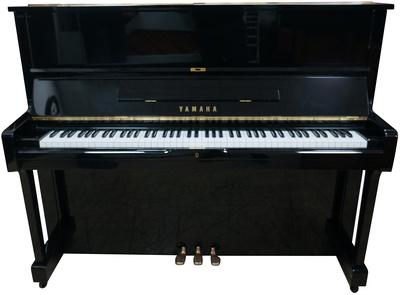 Yamaha U1G Piano used, Black Polished