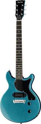 Harley Benton DC-Junior LTD Pelham Blue