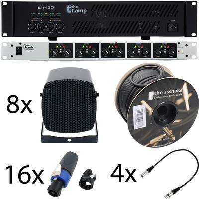 the t.mix Source Mix 52R 4 Zone Bundle