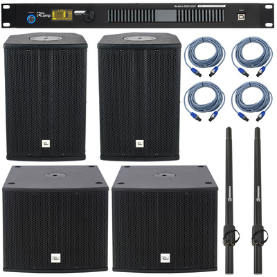 the box pro Achat 108CX/112Sub Quadro Set