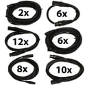 80. pro snake DMX Cable 5 pin TPD XXL Bundle