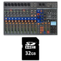 Zoom LiveTrak L-12 Card Bundle