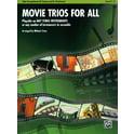 41. Alfred Music Publishing Movie Trios For All Alto Sax