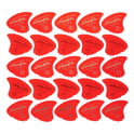 55. Sharkfin Pick Goldprint Soft Red 25