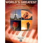 Alfred Publishing World´s Greatest Love Songs