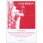 Edition Hug Iwan Roth Tonleitern Saxophon