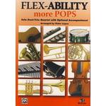 Alfred Music Publishing Flex-Ability More Pops A-Sax