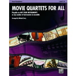 Alfred Music Publishing Movie Quartets for All T-Sax