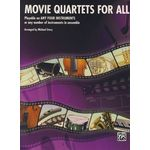 Alfred Music Publishing Movie Quartets for All Piano