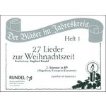 Musikverlag Rundel 27 Lieder Weihnacht 2 Bb