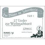 Musikverlag Rundel 27 Lieder Weihnacht 4 C