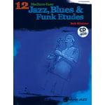 Alfred Music Publishing 12 Medium Jazz Etudes Eb