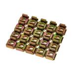 Adam Hall 5651 Rack Nut Pack