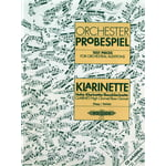 Edition Peters Orchester Probe Klarinette