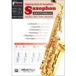 Alfred Music Publishing Grifftabelle Saxophon