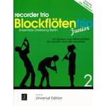Universal Edition Recorder Trio Junior Vol.2