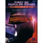 Hal Leonard First 50 Popular Songs Piano