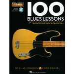 Hal Leonard Bass Lesson Goldmine:100 Blues