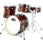 DW Jazz Series Mahogany Stain