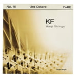 Bow Brand KF 3rd D Harp String No.16