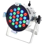 Stairville LED PAR56 24x3W RGB MKII silve