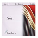 Bow Brand Pedal Natural Gut 3rd G No.20