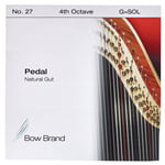 Bow Brand Pedal Natural Gut 4th G No.27
