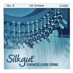 Bow Brand Silkgut 1st C Harp String No.3