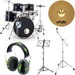 Hamaril Acoustic Drum Set Bundle 2