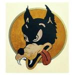 Jockomo JG Wolf Sticker