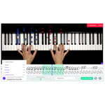 music2me Piano Subscription 1 Month