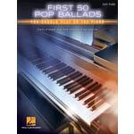 Hal Leonard First 50 Pop Ballads Piano