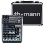Behringer Xenyx QX1002USB Case Bundle