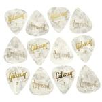 Gibson Perloid Picks Thin 12pc