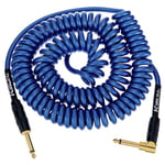 Kirlin Premium Coil Cable 6m Blue