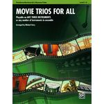 Alfred Music Publishing Movie Trios For All Tromb.