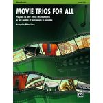Alfred Music Publishing Movie Trios For All Flute