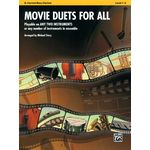 Alfred Music Publishing Movie Duets For All Clarinet