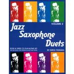Greg Fishman Jazz Studios Jazz Saxophone Duets 2