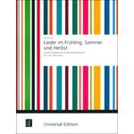 Universal Edition Lieder im Frühling Recorder