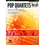 Alfred Music Publishing Pop Quartets For All Clarinet