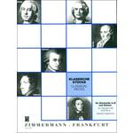 Zimmermann Verlag Klassische Stücke Clarinet