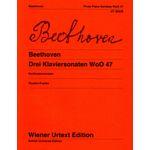 Wiener Urtext Edition Beethoven Drei Klaviersonaten