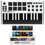AKAI Professional MPK Mini MK3 White - AIEP3 Bdl