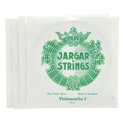 Jargar Cello Strings Silver Dolce