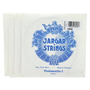 Jargar Cello Strings Silver Medium