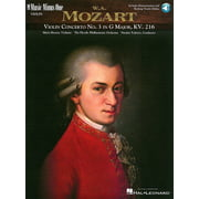 Music Minus One Mozart Violin Concerto No.3