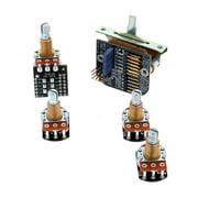 EMG 3 Pickups Push/Pull Wiring Kit